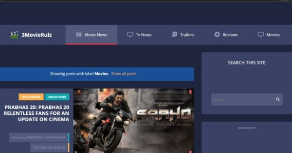 3Movierulz: Download All Latest Movies & Webseries From Movierulz3 in 2021