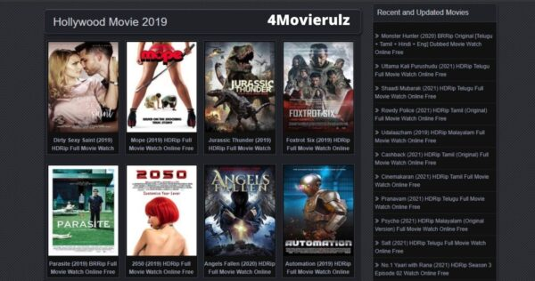 4Movierulz or Movierulz4: Watch and Download all the HD movies for FREE in 2021