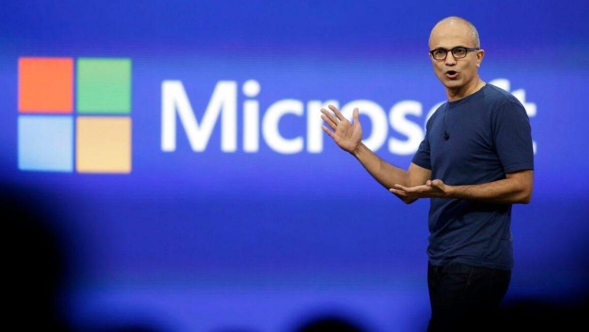 Microsoft Sathya Nadella